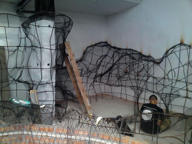 Foto relazione sulla costruzione di un exotarium in uno for Terrario per tartarughe di terra giardino