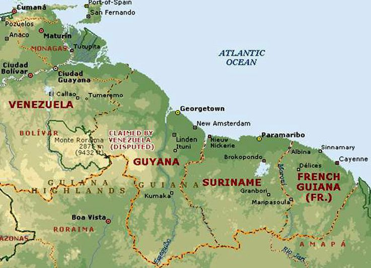 Acquario biotopo: le Guyanas