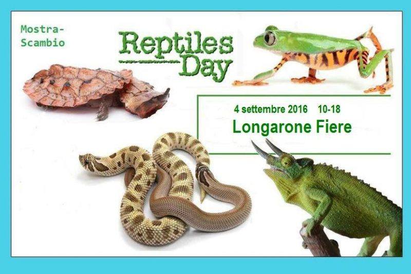 Reptiles Day – Longarone Fiere – 4 settembre 2016