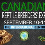 Canadian Reptile Breeders'Expo – 10-11 September 2016