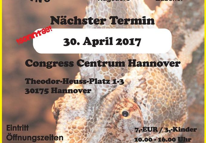 Terrarienborse – Hannover (D) – 30 aprile 2017