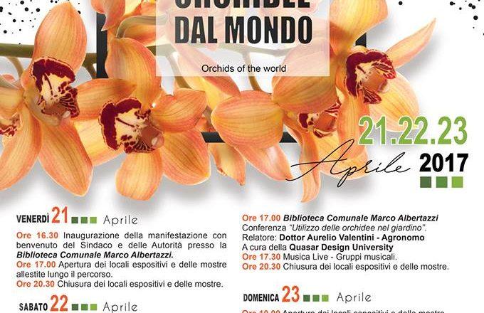 Orchidee dal Mondo – Monte Porzio Catone (Roma) – 21-22-23 Aprile 2017
