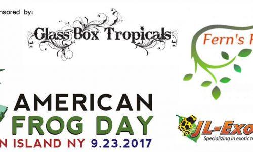 AMERICAN FROG DAY – Staten Island (NY) – 23-9-2017