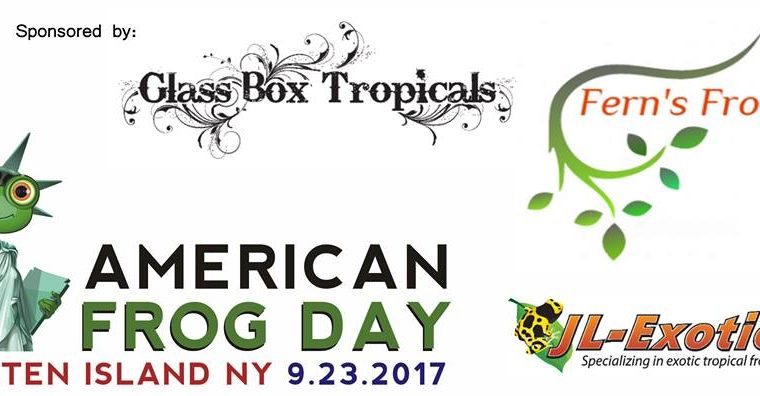 AMERICAN FROG DAY – Staten Island (NY) – 23-9-2017