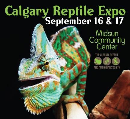 Calgary Reptile Expo – 16-17 September 2017
