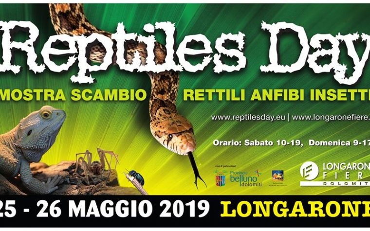 Reptiles Day – Longarone 25-26 maggio 2019